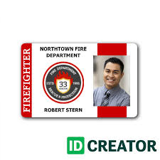 Identification Template Free Custom Id Card Templates By Idcreator Make Id Badges