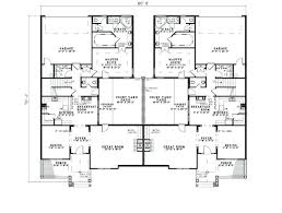 multi family house plans rtment inspirational floor small triplex with garage cabin