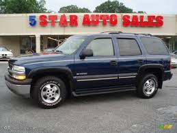 2003 Indigo Blue Metallic Chevrolet Tahoe LT #12683921 | GTCarLot ...