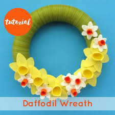 Of Wreaths A Year Of Wreaths March Daffodil Wreath By Laura Howard The