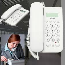 corded telephone caller id home office