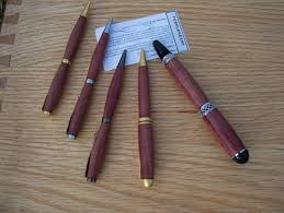 Wood Pen Designs Custom Designer Style Twist Pen With A Larger Diameter For A