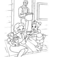 Prinses En De Kikker Kleurplaten Leuk Voor Kids