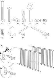 Ikea Instruction Manuals Page 3 Of Ikea Crib Aa 240443 2 User Guide Manualsonlinecom