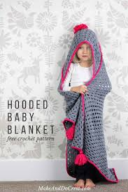 Hooded Blanket Crochet Pattern Cool Ideas