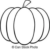 pumpkin drawing. black and white pumpkin cartoon illustration drawing c