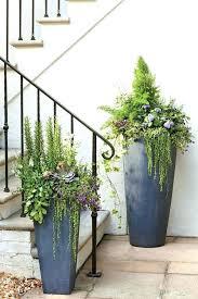 tall planters terrarium design decorative outdoor and urns container gardening ideas color diy