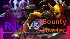 dota 2 rap battle riki vs bounty hunter youtube