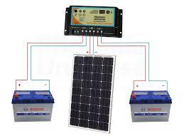 100w 12v dual battery solar charging kit 100 watt panel camper connection diagram for 100w 12v photonic universe dual battery solar charging kit