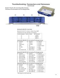 manualsdir com Wabco Wiring-Diagram troubleshooting connectors and harnesses, x1 x4 x2 x3, continued) bendix commercial vehicle systems ec 80 abs atc sd user manual page 31 44