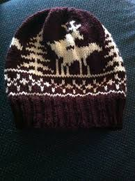 Fo Fornicating Deer Hat Pattern Fornicating Deer Chart