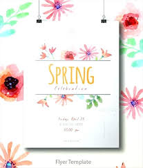 Spring Event Flyer Annual Spring Sale Event Flyer A Customize Template Poster