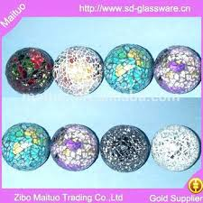 Clear Glass Balls Decorative Delectable Solid Glass Balls Decorative Spheres Mosaic Clear JohnRegan32