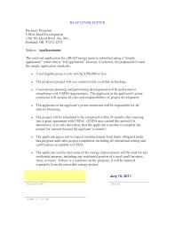 Proposal Cover Letter Proposal Cover Letter Resume Badak 9