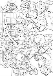 Kids N Fun 17 Kleurplaten Van Sylvanian Families