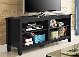 solid wood tv console. Modren Solid WE Furniture 58u0026quot Solid Wood TV Stand Console  To Tv Console
