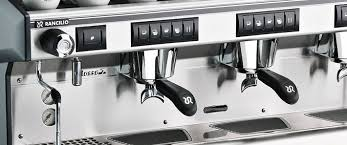 Simple Commercial Coffee Machine Machines Rancilio Classe 7 Throughout Ideas