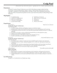 Electronic Resume Template