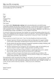Administrative Cover Letter Examples Sample Cover Letter For Office ...