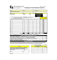 travel expense template travel expense voucher template download templates updrill co