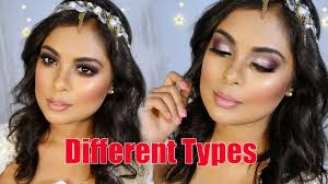 diffe types of makeup looks makeup tutorial