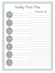 free menu planner printable menu planner free meal planning printables organizing meal