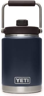 Fortyone thermos cup coffee thermos bottle coffee mugstainless steel cup vacuum insulated cup with temperature display keep drinks hot or cold (black) 3.5 out of 5 stars 128 $19.99 $ 19. Amazon Com Yeti Rambler Half Gallon Jug Vacuum Insulated Stainless Steel With Magcap Navy Sports Outdoors