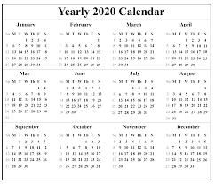 Free Calendars For 2020 Download Indonesia Calendar 2020 Pdf Excel Word