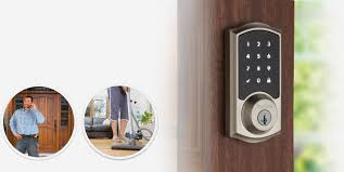 person locking door. Control When Others Have Access To Your Home Person Locking Door C