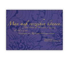 Versöhnungs Grußkarte Mit Zitat Von Friedrich Dem Großen