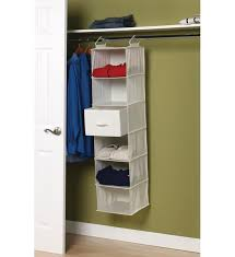 4 shelf hanging closet storage unit river birch threshold unique hanging drawers for closet