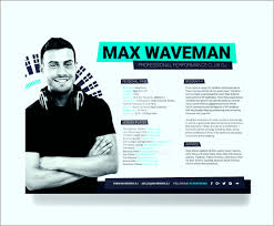 Press Kit Template Download Unique Nice Disc Jockey Resume Template