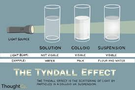 Scattering Of Light Meaning Tyndall Effect Definition And Examples