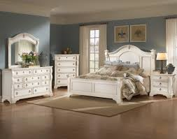 distressed white bedroom furniture. Bedroom Furniture Antique White UV Distressed E