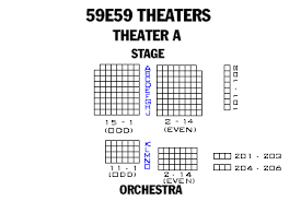59e59 Theater Seating Chart Broadway London And Off Broadway Seating Charts And Plans