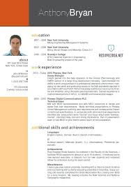 New Resume Format Sample Column Resume Layout Creative Resume ...