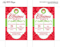 Christmas Party Invitation Template Powerpoint Free Office Holiday Party  Invitation Templates Blog Download