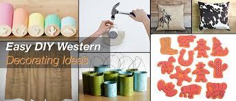 diy western decorating ideas