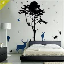 forest pine tree wall decal canada