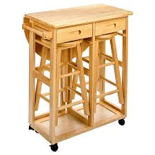 drop leaf kitchen table with 2 round stools hayneedle regard to island cart prepare 18