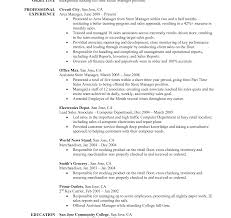 Resume Objective For Customer Service Retail Resume Objective Effortless Imagine Statement For Free 99