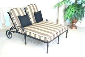 double outdoor chaise lounge the innovative lounger grand terrace in covers terry co
