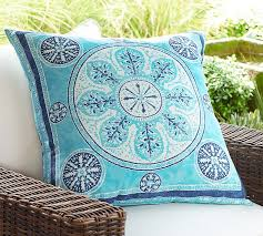 Malibu Medallion Indoor Outdoor Pillow