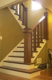 Best  Craftsman Staircase Ideas On Pinterest - Painted basement stairs