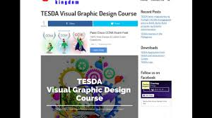 Visual Graphic Design Nc Iii Module Tesda Visual Graphic Design Course 2019