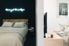 The most common black wall decor material is stretched canvas. 18 Stunning Black Bedrooms How To Use Black Walls Decor In Bedrooms Apartment Therapy