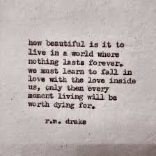 Quotes About Dying Delectable RM Drake Life Quote