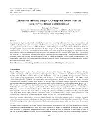 Definisi operasional variabel dependent : Pdf Dimensions Of Brand Image A Conceptual Review From The Perspective Of Brand Communication