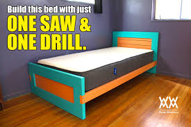 magnificent how to build a twin size bed frame m48 for home decorating ideas with how
