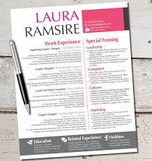 Modern Professional Resume Layout Custom Resume Templates Modern Business The Laura Puentesenelaire